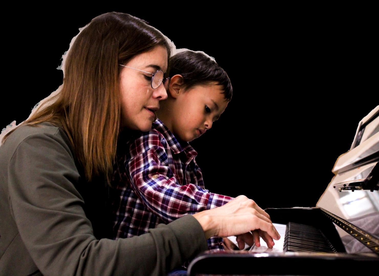 Vínculo - Maqueta - Web - EN CONSTRUCCIÓN - Maestra y alumno